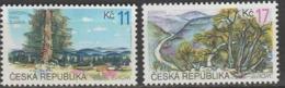 Tcheque Republique Europa 1999 N° 210/ 211 ** Reserves Et Parcs - Europa-CEPT
