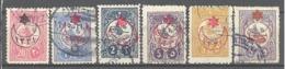 Turquie: Yvert N° 254/256; 6 Valeurs - 1858-1921 Empire Ottoman