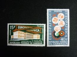 Cameroun, 1964 1st Anniv. Of The Economic Agreement Between ECC And AMU Scott #401-402 MNH Cv. 3,50$ - Camerun (1960-...)