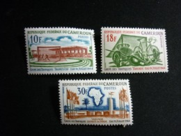 Cameroun, 1964 Tropics Cup Games Yaounde July 11-19. Scott #398-400 MNH Cv. 2,30$ - Camerun (1960-...)