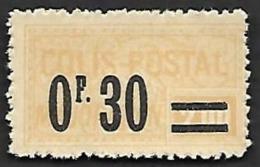COLIS 1926 - Majoration - YT 35 - N** - Colis Postaux