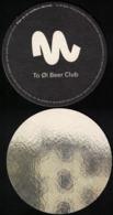 Danemark SB Sous Bock Beermat Beer Coaster To Øl Beer Club - Sous-bocks