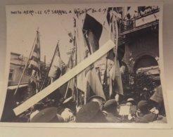 1917 Général Sarrail Volo Grèce Salonique Front Orient Drapeaux Tranchée  1914 1918 WW1 14/18 1W - Guerra, Militari