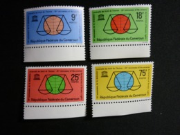 Cameroun, 1963 Universal Doclaration Of Human Rights 15th Anniv. Scott #392-395 MNH Cv. 3,15$ - Camerun (1960-...)
