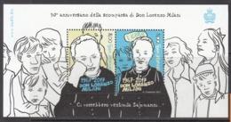 2017  San Marino Don Lorenzo Milani Cartoon Artist Souvenir Sheet   MNH   @BELOW Face Value - San Marino