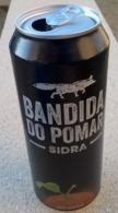 Portugal Cannette Vide Empty Can Cidre Cider Bandida Do Pomar 50 Cl - Cans