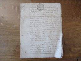 5 FEVRIER 1769 CONTRAT DE MARIAGE ENTRE LE SIEUR NICOLAS COLOT A DIEU LOIRE ET Mlle MARIE PETIT JEAN DE TOUL G.DE METZ E - Manuscrits