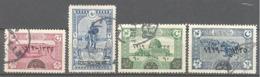 Turquie: Yvert N° 595/598 - 1858-1921 Empire Ottoman