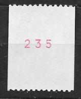 FRANCE Liberté De 1985 Neuf ** N°2379b ( N°rouge ) - France