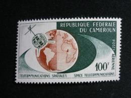 Cameroun, 1963 Telstar Type Of Regular Issue Scott #C45 MNH Cv. 2,50$ - Camerun (1960-...)