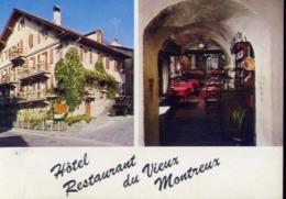 Montreux - Hote Restorant Du Vieux - Formato Grande Viaggiata – E 13 - Schweiz