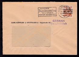 Stuttgart Maschinenstempel (14a) STUTTGART 9 23.7.48 STUTTGARTER  - Germania