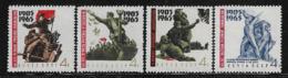 U.R.S.S. - 1965: 4 Valori Nuovi S.t.l. Dedicati Al 60° ANNIVERSARIO DELLA RIVOLUZIONE DEL 1905 - In Buone Condizioni. - Ongebruikt