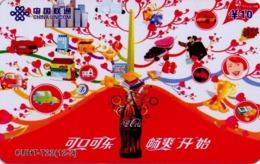 CHINA. COCA COLA - DEPORTE - BEIJING 2008. CUHT-T22(12-2). (776) - China