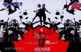 CHINA. COCA COLA - DEPORTE - BEIJING 2008. CUHT-T22(12-4). (775) - China