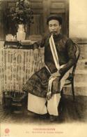 Indochina, COCHINCHINE, Sous-Chef De Canton Indigène, Chinese Cook (1910s) - Viêt-Nam