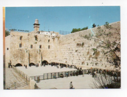 Israel: Jerusalem, The Western Wall (19-1805) - Israel