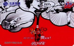 CHINA. COCA COLA - DEPORTE - BEIJING 2008. CUHT-T22(12-6). (770) - China