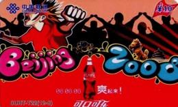 CHINA. COCA COLA - DEPORTE - BEIJING 2008. CUHT-T22(12-8). (779) - China