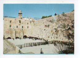 Israel: Jerusalem, The Western Wall (19-1808) - Israel