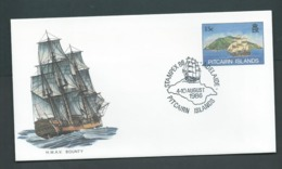 Pitcairn Islands 1986 15c HMAV Bounty Ship PSE , FU At Stampex Adelaide - Stamps