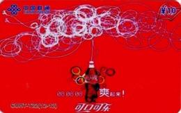 CHINA. COCA COLA - DEPORTE - BEIJING 2008. CUHT-T22(12-12). (773) - China