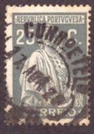 """Portugal 1926 - """" Ceres """" 25c Emissão De Londres - 1910-... République"""