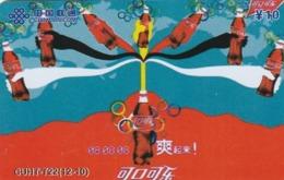 CHINA. COCA COLA - DEPORTE - BEIJING 2008. CUHT-T22(12-10). (781) - China