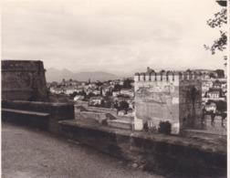 GRANADA GRENADE ALHAMBRA 1963 Photo Amateur Format Environ 7,5 Cm X 5,5 Cm ESPAGNE - Lugares