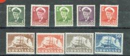 GRONLAND GROENLANDIA  SELECTIO 1950-1960 - Groenland