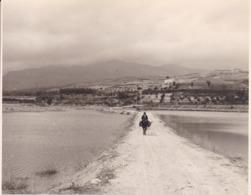 PANTANO DE LOS BERMEJALES 1963 Photo Amateur Format Environ 7,5 Cm X 5,5 Cm ESPAGNE - Lugares