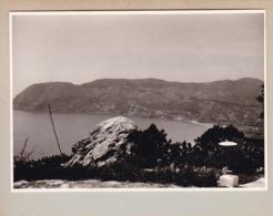 PUNTA DE LA MONA Vue Sur CERBO GORDO 1964 Photo Amateur Format Environ 7,5 Cm X 5,5 Cm ESPAGNE LA HERRADURA - Lugares
