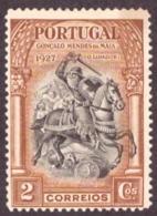Portugal 1927 - Indepedência De Portugal ( 2a Emissão ) 2c Neuf - 1910-... République