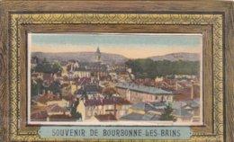 """52 - BOURBONNE Les BAINS """" Souvenir De Bourbonne Les Bains """" Carte à Système - 10 Vues - A Voir 2 Scans - Bourbonne Les Bains"""