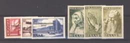 Sarre  :  Yv  344-49  ** - 1947-56 Occupation Alliée