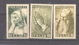 Sarre  :  Yv  347-49  ** - 1947-56 Occupation Alliée