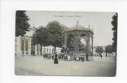 VILVOORDE 1907  VILVORDE GRAND PLACE   MOOIE ANIMATIE  MARCOVICI - Vilvoorde