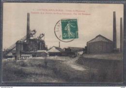 Carte Postale 59. Louvroil-sous-le-bois  Usines De L'Espérance  Les Hauts Fourneaux Trés Beau Plan - France