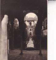 GRANADA GRENADE 1948 GENERALIFE Photo Amateur Format Environ 7,5 Cm X 5,5 Cm ESPAGNE - Lugares