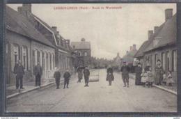 Carte Postale 59. Ledringhem  Route De Wormhoudt   Trés Beau Plan - Other Municipalities