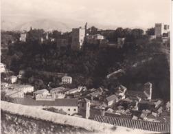 GRANADA GRENADE ALBAICIN Vue Prise De San ANDREAS 1946 Photo Amateur Format Environ 7,5 Cm X 5,5 Cm ESPAGNE - Lugares