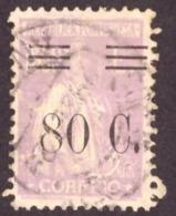 """Portugal  1928-29 - """" Ceres"""" 80c/1$50   Ceres  Surcharged - 1910-... République"""