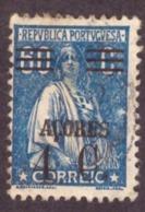 """Portugal  Açores 1929-30  - """" Ceres""""  4c/60c   """" Ceres """"  AZORES Surcharged - 1910-... République"""