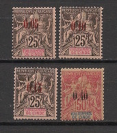 Inde - 1903 - N°Yv. 20 à 23 - Série Complète - TRES BEAUX -  Neuf * / MH VF - Indien (1892-1954)