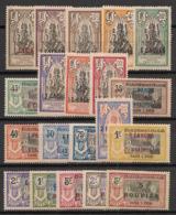 Inde - 1923-26 - N°Yv. 59 à 78 - Série Complète - Neuf * / MH VF - Ungebraucht