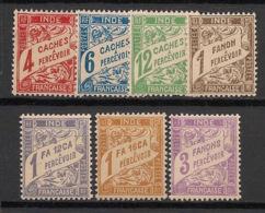 Inde - 1929 - Taxe TT N°Yv. 12 à 18 - Série Complète - Neuf Luxe ** / MNH / Postfrisch - Indien (1892-1954)