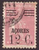 """Portugal  Açores 1929-30  - """" Ceres""""  12c/25c   """"Ceres""""  AZORES Surcharged - 1910-... République"""
