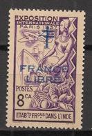 Inde - 1942 - N°Yv. 183 - 8ca Violet - France Libre - 1er Tirage - Neuf Luxe ** / MNH / Postfrisch - Indien (1892-1954)