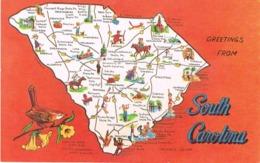 "South Carolina (Etats-Unis) - Palmetto State - "" Greetings From South Carolina "" - Non Classés"