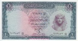 EGYPT 1 EGP 1966 P-37 Sig/ ZENDO #10  UNC */* - Aegypten